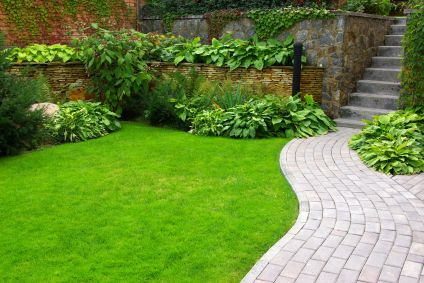 27 Awesome Garden Design Ideas: garden-design-ideas-with-walkway