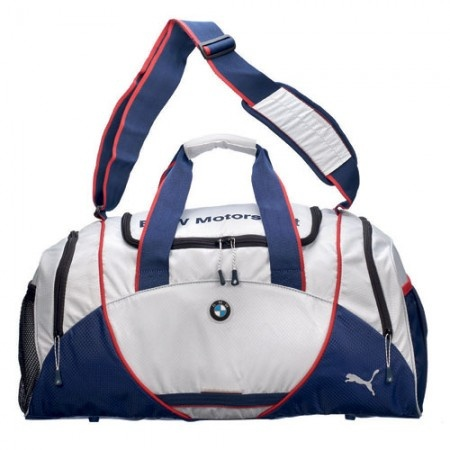 Puma BMW Motorsport White Duffel Bag: $75 @ Speedgear.com