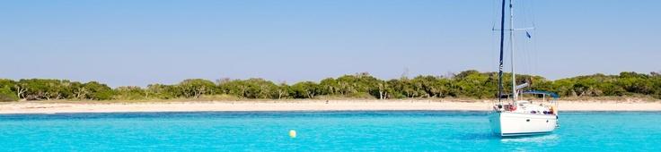 Fondeado en La Sabina- Formentera. ClickOnSailing