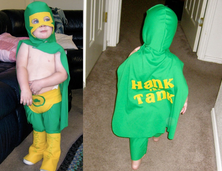 Hank the Tank... mexican wrestler costume--Isn't my nephew the cutest?