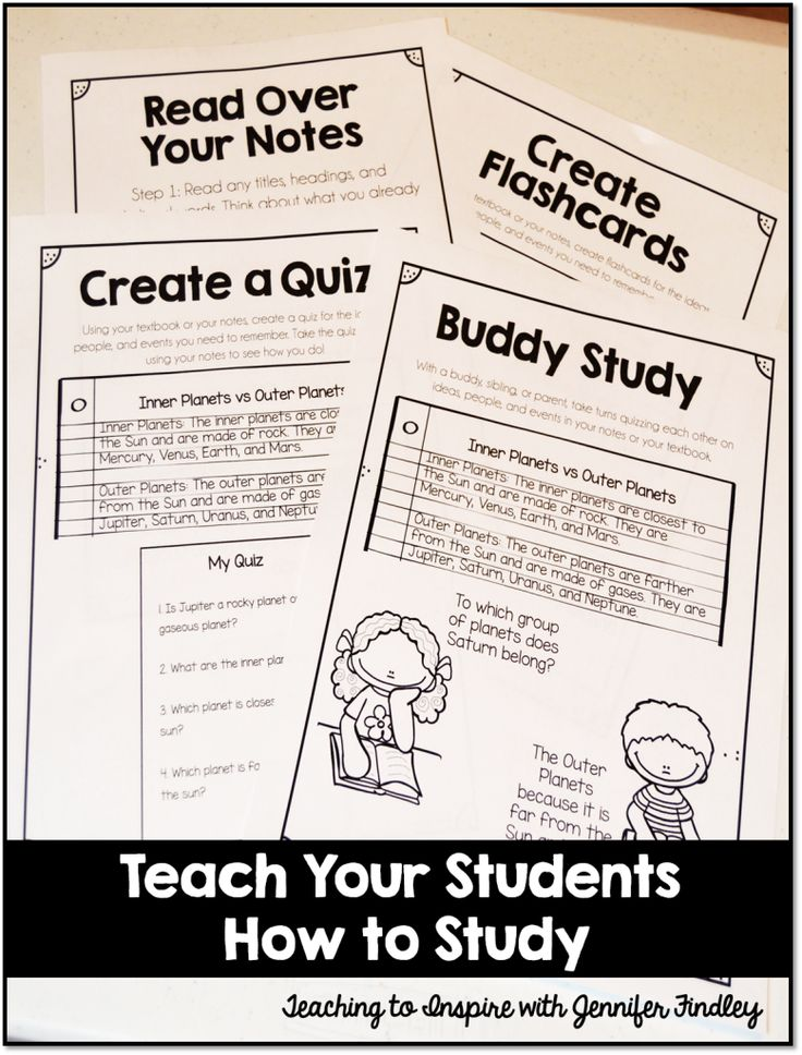 the best study skills ideas study habits of  teach your students study habits these four study strategies grab the example posters