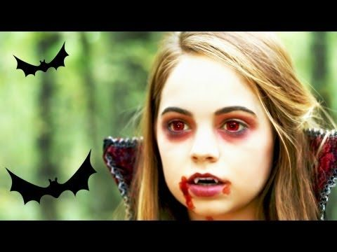 another vampire makeup tutorial - a bit of a different take on it