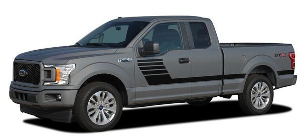 2018 Ford F 150 Side Stripes Decals Lead Foot 2015 2018 2019 2015