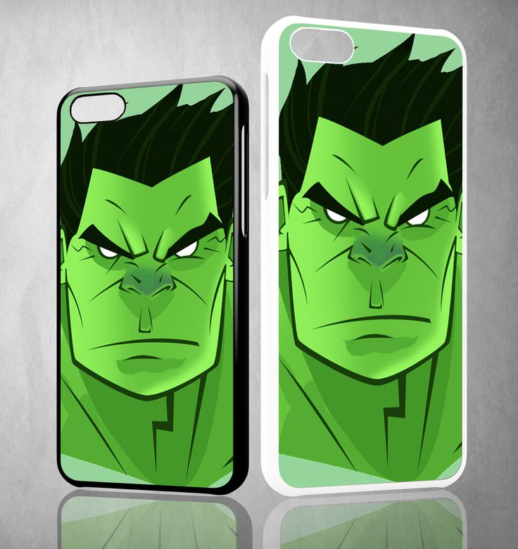 Hulk FACE Y1295 iPhone 4S 5S 5C 6 6Plus, iPod 4 5, LG G2 G3 Nexus 4 5, Sony Z2 Case