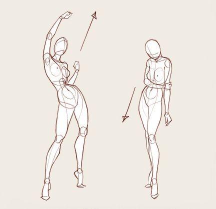 Эмоции. Позитивные эмоции полны жизни и экспрессии. Они усиливают энергию, акцентируя состояние персонажа. Заряд движется вверх. Негативные эмоции давят на нас. Такие чувства тяжелы и направлены вниз.