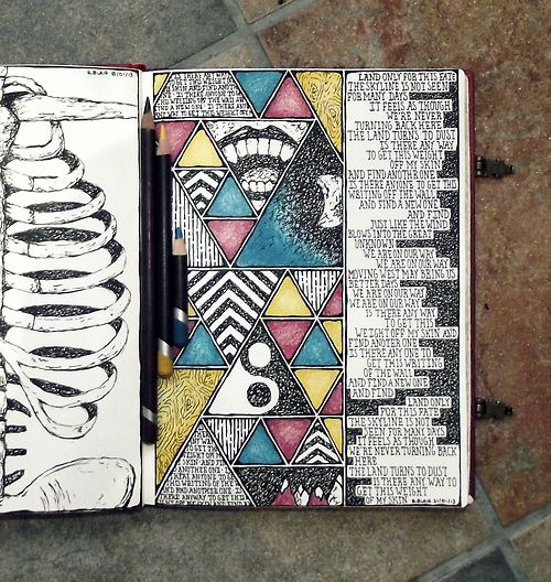 Notebook #034, Rebecca Blair Art