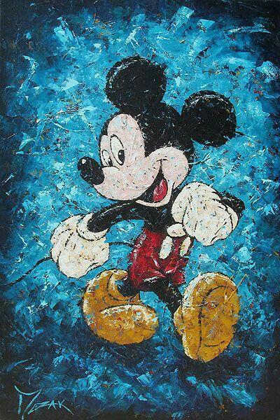 Happy mickey