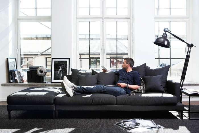 Elliot Sofa Och Pall. Slettvoll   Home Interior   Pinterest   Small Living  Rooms, Small Living And Interiors