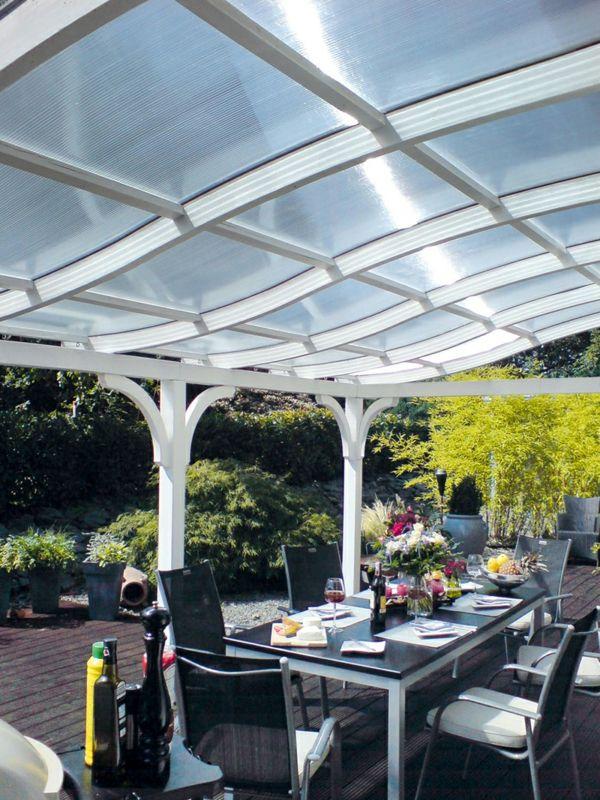 Die besten 25+ Vordach glas Ideen auf Pinterest Terrassendach - mediterrane terrassenberdachung