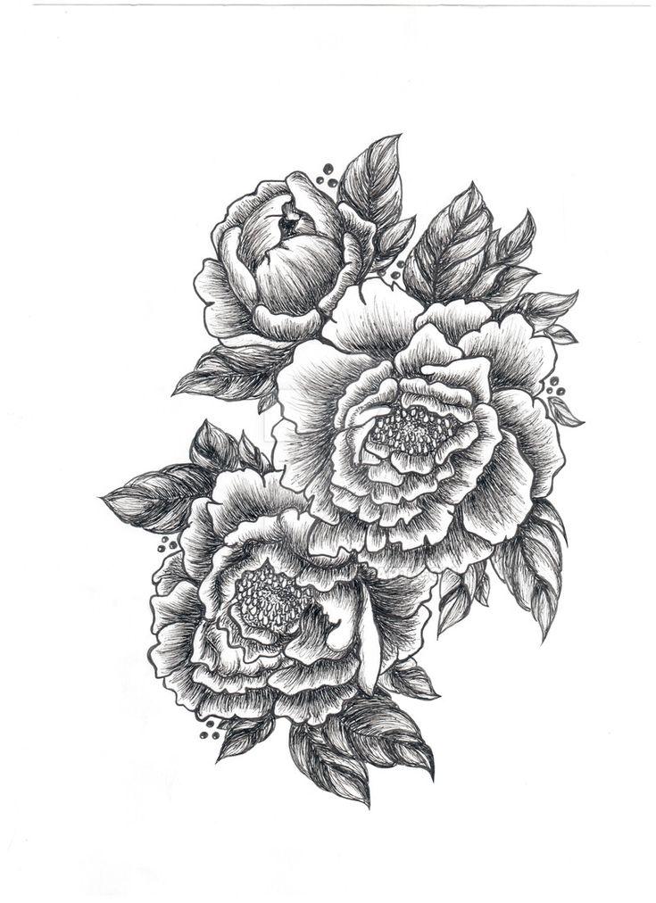 die besten 25 pfingstrosen tattoo ideen auf pinterest pfingstrosen blumen tattoos blumen. Black Bedroom Furniture Sets. Home Design Ideas