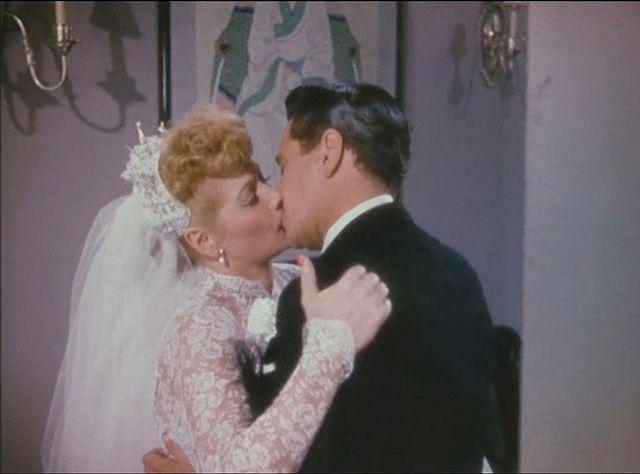 The Long Long Trailer 1954-a beautiful Lucille Ball & Desi Arnaz as Tacy & Nicky