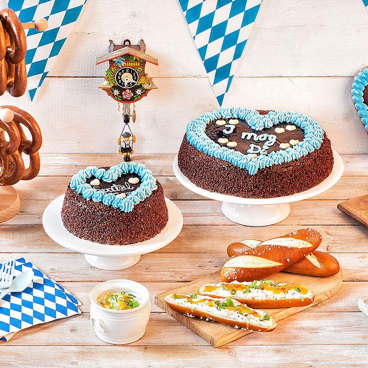 Wir haben tolle Ideen für Gaudi dahoam! Schokoladenkuchen im Oktoberfeststil ✓ …   – Oktoberfest
