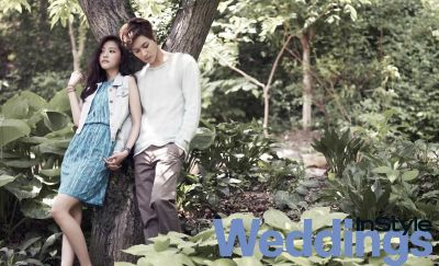 SHINee's Taemin and A Pink's Naeun // InStyle Weddings