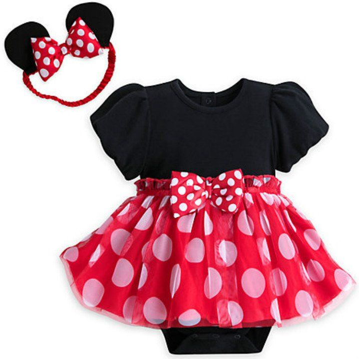 Disney Baby Minnie Mouse Tutu Bodysuit Costume Set