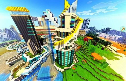 "Minecraft pe ""Snake apartment"""