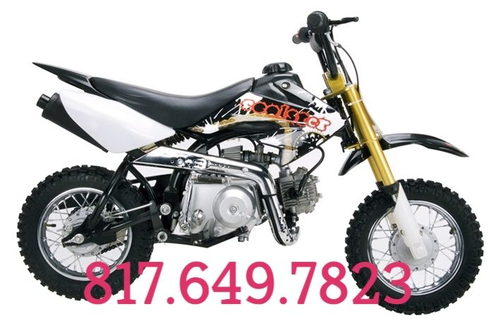High End Dirt Bike Pit Bike 70CC	Sale Price: $399.00
