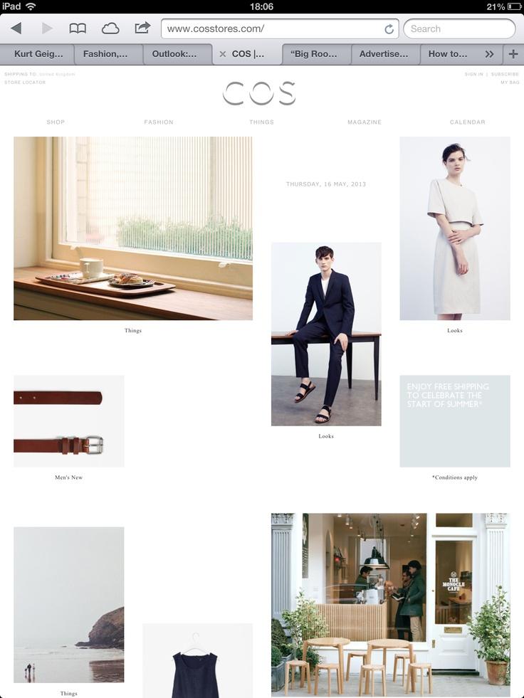 Cos website