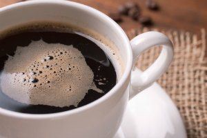black coffee during fasting to lose weight