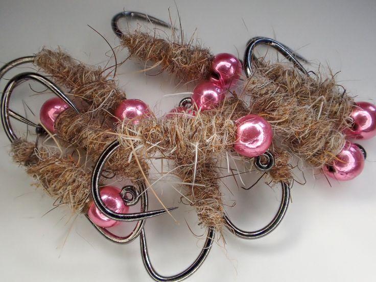 Pink bead head walts worm