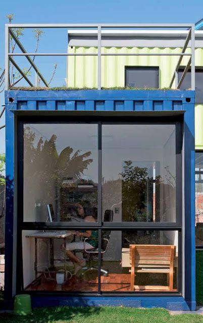 7 Sobrados com Containers entre 100 m² e 200 m²