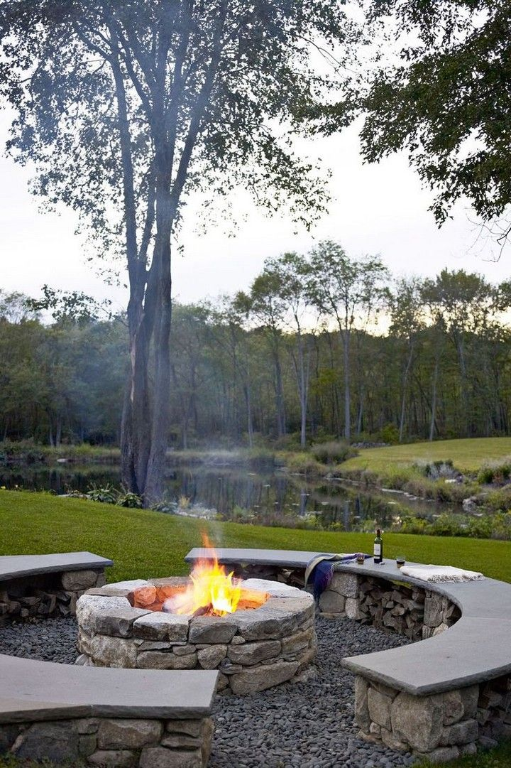 10 Best Outdoor Fire Pits For 2020 House Living Outdoor Fire Pit Rustic Fire Pits Fire Pit Landscaping