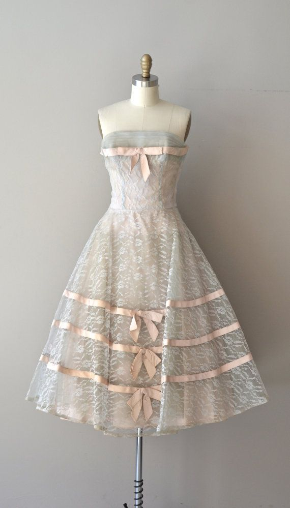 1950s vintage dress   50s party dress