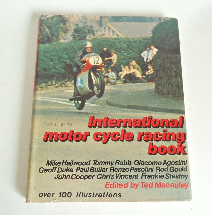 International Motor Cycle Racing Book by Ted Macauley by TreasureCoveAlly on…