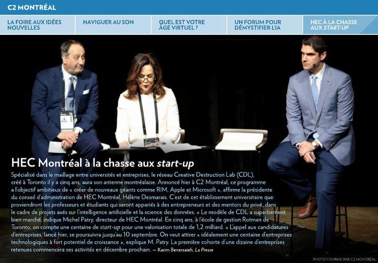 La foire aux idées nouvelles - La Presse+