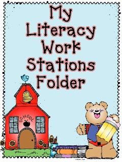 Debbie Diller Literacy Work Stations FREEBIE