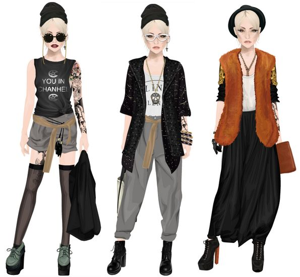 QUEENS OF FASHION: moda użytkowników