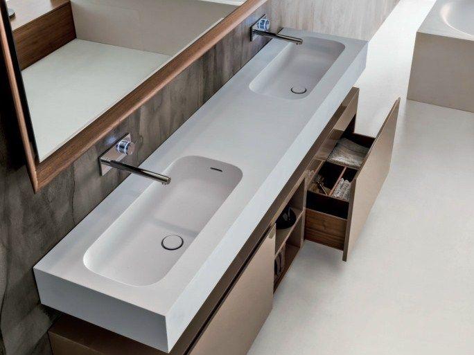 47 best images about sanitär -handwaschbecken on pinterest - Badtisch Doppelwaschbecken