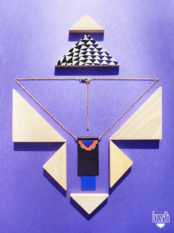 ▾ Black and Blue necklace ▾
