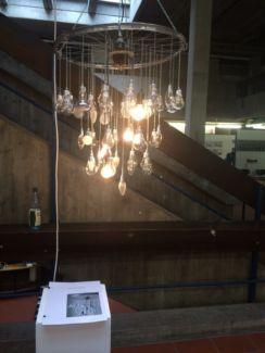 Kronleuchter trash chandelier lampe kunst fahrradteile | eBay Kleinanzeigen mobil