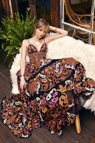 Shop spring's 70's boho glam fashion trend.