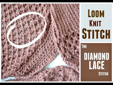 Loom Knitting Stitches Instructions : 85 best tricotin images on Pinterest Knifty knitter, Loom knitting projects...