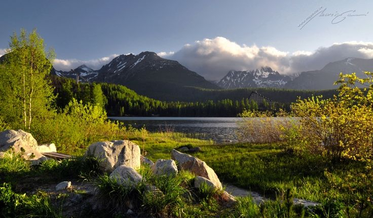 Strbske Pleso Lake, High Tatras