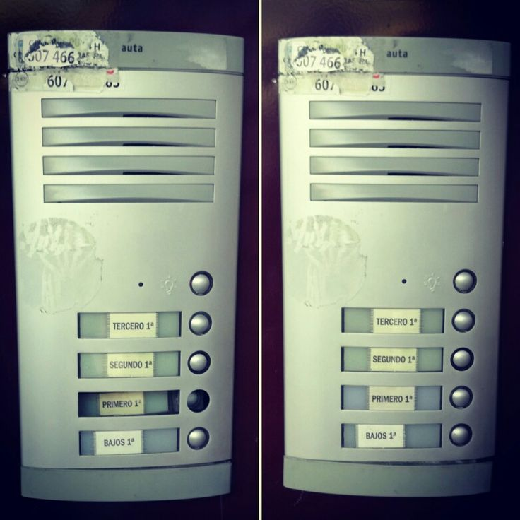 Reparación de pulsador en antigua placa Auta. Cambio de pulsador.
