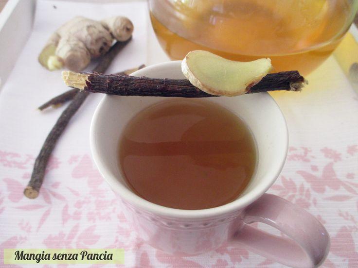 Il decotto per alleviare il mal di gola è preparato con due ingredienti: lo zenzero da subito sollievo alla gola e la liquirizia decongestiona e addolcisce.