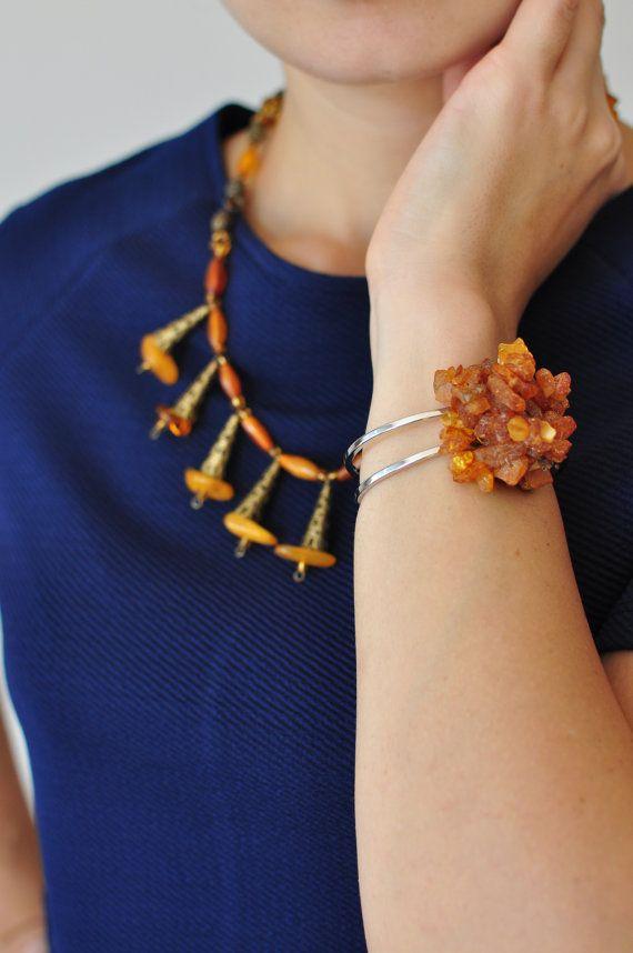 Bracelet Free Shipping Natural Stones Handmade Unique by Monpasier