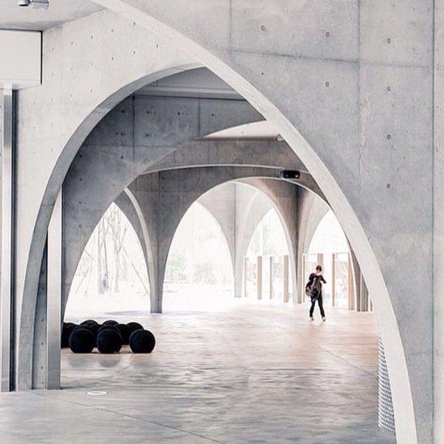 Concrete arches via paddingtonhouse | Cement & Concrete ...