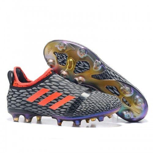 fotbalové kopačky Adidas Glitch Innershoes FG Černá Šedá Červené