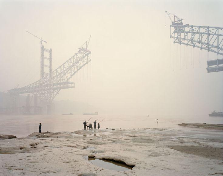 "Chongqing XI, Chongqing Municipality. From Nadav Kander's ""Yangtze: The Long River,"" A photo essay on China's longest river. © 2010 Nadav Kander."