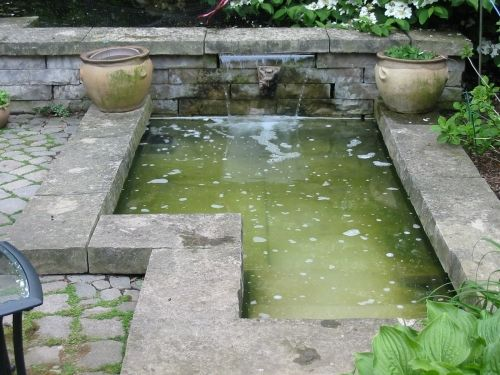 If you want a garden pond but not a lot of maintenance for Garden pond upkeep