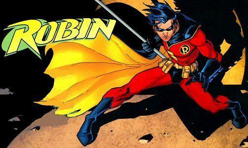 Robin é o nome de diversos personagens fictícios que aparecem em histórias em quadrinhos publicados pela DC Comics , originalmente criado po...