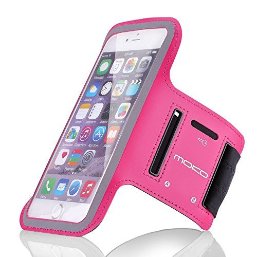 MoKo+Armband+for+iPhone+6s+Plus+/+6+Plus,+Sweatproof+Sports+Armband+Running+Arm+Band+for+iPhone+6S+Plus,+6+Plus,+Samsung+S8+Plus,+S7+Edge,+Note+4+/+5,+J7,+BLU,+Magenta+(Fits+Arm+Girth+9″-12.6″)