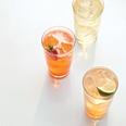 Lemongrass Sparkler recipe idea for New Year's --  lemon zest, lime zest, lemongrass, Simple Syrup, soda water