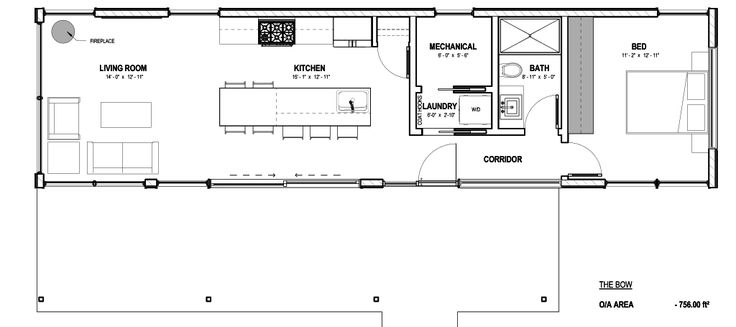 17 best images about cabin floor plans on pinterest for Bow house plans
