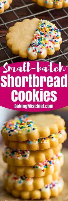 Small-batch Shortbread Cookies