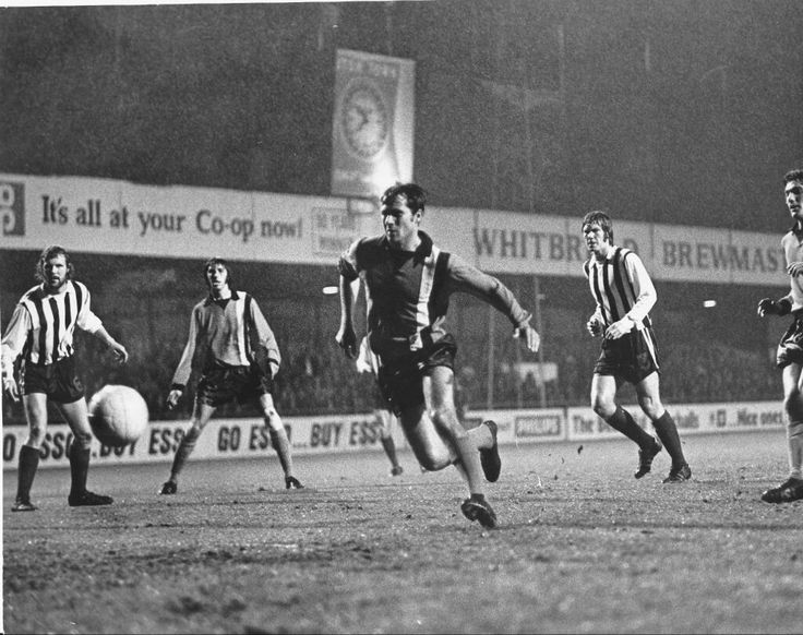 League Cup tie against Grimsby at Kenilworth Rd in 1973