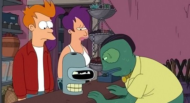 "Futurama Season 7, Episode 21 Review: ""Assie Come Home"""